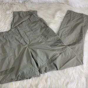 Columbia Zip Off Pants Shorts Size Large Two Way